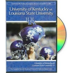 Kentucky Wildcats vs. LSU Tigers 2007 Game Complete Network Broadcast DVD found on Bargain Bro India from Fanatics for $19.99