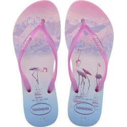 Havaianas Women's Flip-Flops CRYSTAL - Crystal Rose & Shocking Pink Flamingo Flip-Flop - Women found on MODAPINS from zulily.com for USD $18.99