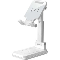 3P Experts White - White Dual Charge Phone Stand found on Bargain Bro from zulily.com for USD $22.79