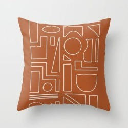 Couch Throw Pillow | New Shapes by Grace - Cover (16