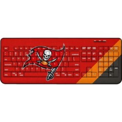 Tampa Bay Buccaneers Diagonal Stripe Wireless Keyboard found on Bargain Bro from nflshop.com for USD $45.59