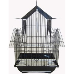 YML Black Pagoda Top Bird Cage, Small found on Bargain Bro Philippines from petco.com for $35.06