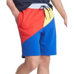 Tommy Hilfiger Mens Sweatshorts Blue Size 2XL Colorblock French Terry (2XL), Men's(cotton) found on Bargain Bro from Overstock for USD $29.40