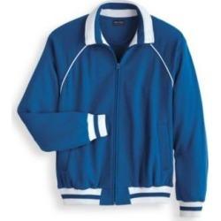 Men's John Blair DURAfleece Sweatshirt Jacket, True Blue 4XL Regular found on Bargain Bro Philippines from Blair.com for $49.99