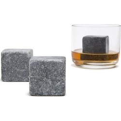 XL Natural Soapstone Whiskey Stones, Set of 2 found on Bargain Bro from Overstock for USD $13.64