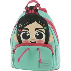 Loungefly Wreck It Ralph Vanellope Mini Backpack Teal/Pink found on Bargain Bro Philippines from ShoeMall.com for $75.00
