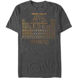 Fifth Sun Men's Tee Shirts CHAR - Star Wars Charcoal Heather 'Periodic Table of Star Wars' Tee - Men found on Bargain Bro Philippines from zulily.com for $15.99