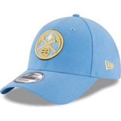 Denver Nuggets New Era Official Team Color 9FORTY Adjustable Hat - Light Blue found on Bargain Bro from Fanatics for USD $18.99