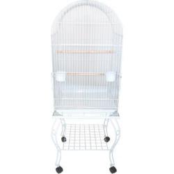 YML Dometop White Bird Cage, 20
