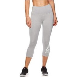Reebok Womens Wanderlust Capri Compression Athletic Pants (Gray - R144 - Medium), Women's(polyester) found on Bargain Bro Philippines from Overstock for $31.92