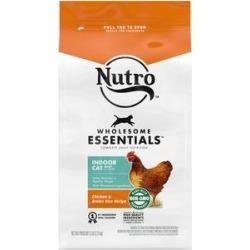 Nutro Wholesome Essentials Indoor Chicken & Brown Rice Recipe Adult Dry Cat Food, 5-lb bag