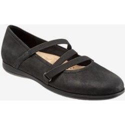 Women's Della Flat by Trotters in Black (Size 9 M) found on Bargain Bro India from Woman Within for $109.99
