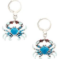 Frankie & Stein Women's Earrings - Blue Crab Drop Earrings found on Bargain Bro India from zulily.com for $12.99