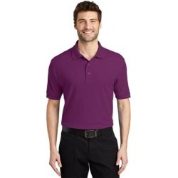 Port Authority Men's Silk Touch Wrinkle Resistance Polo found on Bargain Bro Philippines from Overstock for $32.49