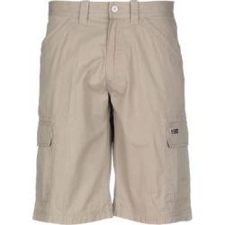 Bermuda - Natural - Napapijri Shorts found on MODAPINS from lyst.com for USD $84.00