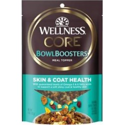 Wellness CORE Bowl Boosters Skin & Coat Dry Dog Food Topper, 4-oz bag