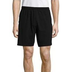 petite Hanes Men's Jersey Pocket Short (Black - S) found on Bargain Bro from Overstock for USD $13.22