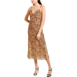 Blue Life Daria Slip Dress (M), Women's, Brown(rayon, animal print) found on MODAPINS from Overstock for USD $43.99
