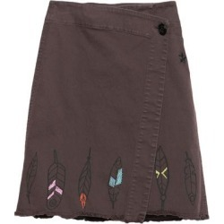 Knee Length Skirt - Brown - Saucony Skirts found on Bargain Bro from lyst.com for USD $78.28