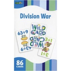 Flash Kids by Sterling Publishing Printed Flash Cards - Division War Flash Card Set found on Bargain Bro India from zulily.com for $5.20