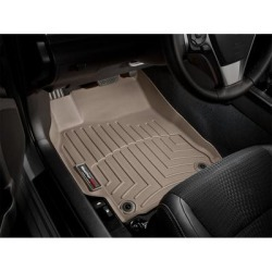 WeatherTech Floor Mat Set, Fits 2012-2016 Honda CR-V, Primary Color Tan, Material Type Molded Plastic, Model 457371 found on Bargain Bro from northerntool.com for USD $97.24
