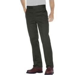 Dickies Men's 874 Original Fit Classic Work Pants (Olive Green - 44X30)(cotton) found on Bargain Bro Philippines from Overstock for $29.56