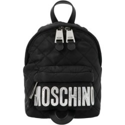 Baby Logo Backpack - Black - Moschino Backpacks found on Bargain Bro from lyst.com for USD $261.44