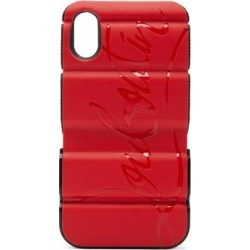 Red Runner Iphone® X & Xs Phone Case - Red - Christian Louboutin Cases found on Bargain Bro from lyst.com for USD $243.20