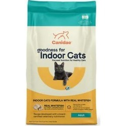 Canidae Goodness for Indoor Cats Real Whitefish Adult Dry Cat Food, 10-lb bag found on Bargain Bro from Chewy.com for USD $22.03