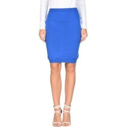 Knee Length Skirt - Blue - Moschino Skirts found on Bargain Bro Philippines from lyst.com for $67.00