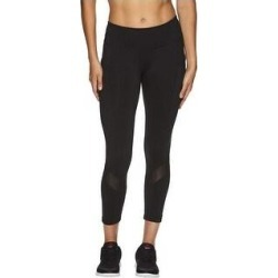 Reebok Womens Aspire Skinny Capri Compression Athletic Pants (Black - Large), Women's(polyester) found on Bargain Bro from Overstock for USD $24.60