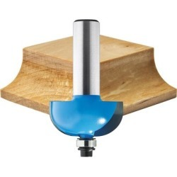 Rockler Cove Router Bit - 1 1/8Inch Cutting Width, 1/2Inch Shank, Model 91507 found on Bargain Bro from northerntool.com for USD $26.59