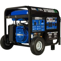 DuroMax Dual Fuel Generator with CO Alert - 10,000 Surge Watts, 8000 Rated Watts, Electric Pushbutton Start, Model XP10000HX found on Bargain Bro from northerntool.com for USD $987.23