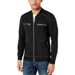 I-N-C Mens Paperboy Jacket (Black - Small), Men's(knit) found on MODAPINS from Overstock for USD $42.19