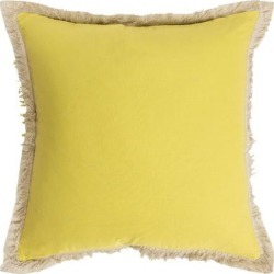 Rizzy Home Lu Fringe Throw Pillow, Green, 20X20 found on Bargain Bro India from Kohl's for $17.49