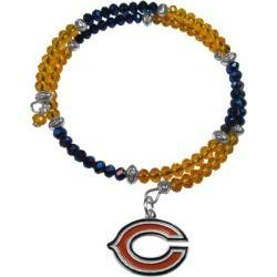 Women's Chicago Bears 400 Degrees Crystal Bracelet found on Bargain Bro from nflshop.com for USD $22.79