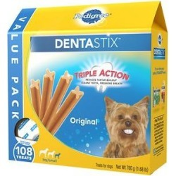 Pedigree Dentastix Mini Dental Dog Treats, 108 count
