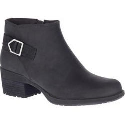 Merrell Women's Casual boots BLACK - Black Shiloh II Bluff Leather Ankle Boot - Women found on Bargain Bro Philippines from zulily.com for $59.99