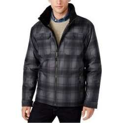 Free Country Mens Plaid Canvas Utility Parka Coat (X-Large), Men's, Black found on MODAPINS from Overstock for USD $98.99