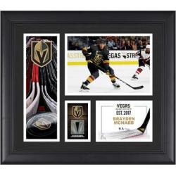 Brayden McNabb Vegas Golden Knights Fanatics Authentic Framed 15