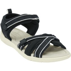 Extra Wide Width Women's The Annora Sandal by Comfortview in Black (Size 7 WW) found on Bargain Bro Philippines from Ellos for $42.99