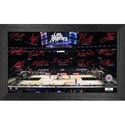 LA Clippers Highland Mint 12'' x 20'' Signature Court Photo found on Bargain Bro from Fanatics for USD $45.59