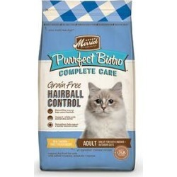 Merrick Purrfect Bistro Complete Care Grain-Free Hairball Control Chicken & Sweet Potato Recipe Dry Cat Food, 4-lb bag found on Bargain Bro Philippines from Chewy.com for $17.09