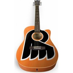 Philadelphia Flyers Woodrow Acoustic Guitar found on Bargain Bro Philippines from Fanatics for $399.99
