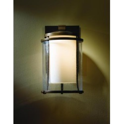 Hubbardton Forge Meridian 15 Inch Tall 1 Light Outdoor Wall Light - 305615-1004 found on Bargain Bro from Capitol Lighting for USD $827.64