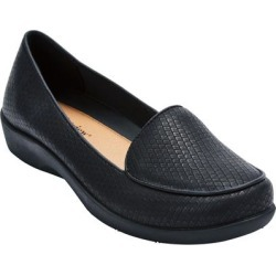Extra Wide Width Women's The Jemma Flat by Comfortview in Black (Size 12 WW) found on Bargain Bro Philippines from Ellos for $61.99