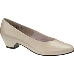 Extra Wide Width Women's Angel II Pump by Soft Style in Bone Smooth (Size 7 EW) found on Bargain Bro Philippines from Woman Within for $54.99