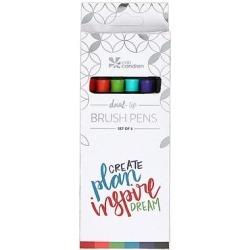 Erin Condren Writing Utensils - Dual-Tip Brush Pen Set found on Bargain Bro Philippines from zulily.com for $12.99