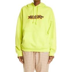 Unisex Graffiti Logo Hoodie - Yellow - Rassvet (PACCBET) Sweats