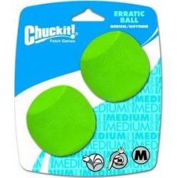 Chuckit! Erratic Ball Dog Toy, Medium, 2 pack found on Bargain Bro Philippines from Chewy.com for $8.54
